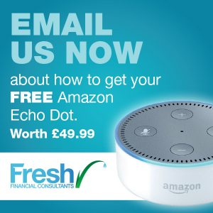 Find out how to get your free Amazon Echo Dot with Fresh Financial